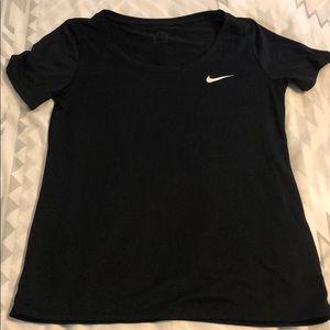 Nike dri fit scoop neck shirt